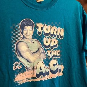 RETRO 90s Saved by the Bell AC SLATER Graphic Tee